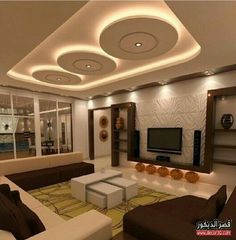 Gypsum False Ceiling Design For Dining Room With Led Ceiling Lights