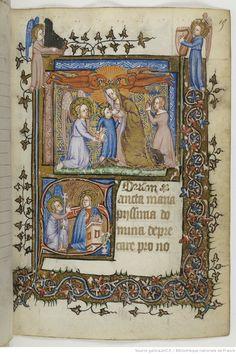 Horae ad usum Mettensem ou Heures dites d'Isabeau de Bavière, reine de France. -- 1375-1400 -- manuscrits