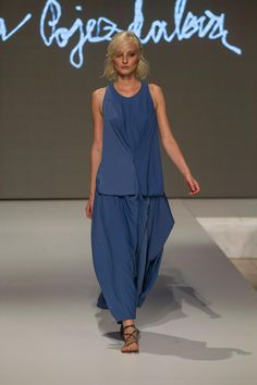 Collection of Andrea Pojezdálová presented during Fashion LIVE! Peplum Dress, Live, Collection, Dresses, Fashion, Gowns, Moda, La Mode, Peplum Dresses