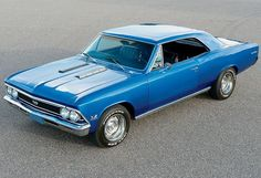 1966 Chevy Chevelle SS. Awesome American Muscle!