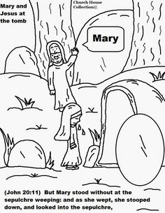 Church House Collection Blog: Easter Jesus Resurrection Coloring Pages