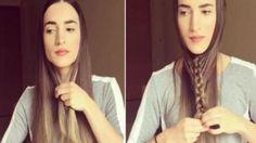 ¿Has soñado alguna vez con trenzarte el pelo de forma original? ¿pero nunca queda como esperas? ¡Esta chica ha...