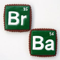 Breaking Bad cookies--wonder if they are laced ;)