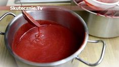 Wytrawny sos śliwkowy -do mięs, kanapek, grillowania (jak ketchup) Polish Recipes, Polish Food, Chocolate Fondue, Preserves, Grilling, Sandwiches, Vegan Recipes, Good Food, Spices
