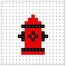 Image Result For Perler Fire Hydrant Melting Beads Hama