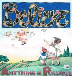 When pigs fly! Mary Engelbreit, Flying Pig, Piglets, Whimsical, Wings, Mary Mary, Quilts, Fun, Strength