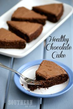 Gluten Free Healthy Chocolate Cake Recipe.  Can use regular flour or option of part WW and part regular or other options give.  Uses applesauce in place of fat.