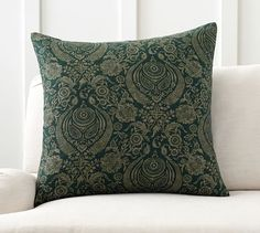 Sabyasachi Colonial Damask Printed Pillow Cover | Pottery Barn