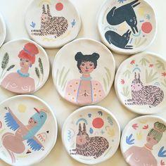 Listas para ir al horno 🔥❤️🔥 . . . #ceramics #ceramica #art #arte #color #amor #handmade #handpainted #hechoamano #argentina #mujeres #womenart #picoftheday #pictureoftheday #love