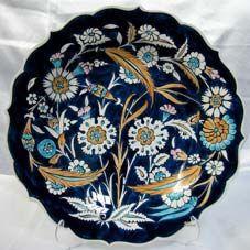 Klasik İznik Çinileri Ottoman Classics Nicea Pottery & Tiles Plates