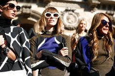SIXTIES  Giovanna Battaglia and Anna Dello Russo  There was a definite blast from the past on the Spring runways–Marc Jacobs brought back Edie Segwick and Joe Fresh created clothing for a 60s astronaut girl. The 60s will be alive again in 2013.