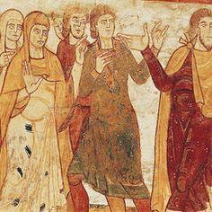 Abbey Church of Saint-Savin sur Gartempe Romanesque Art, Romanesque Architecture, Ancient History, Art History, Art Roman, Religious Books, Examples Of Art, Medieval Art, Sacred Art