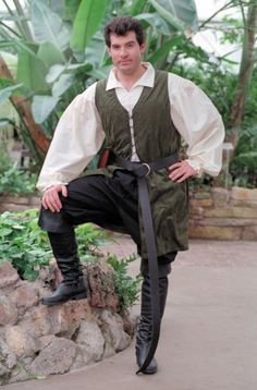 Innkeeper's Vest: Renaissance Costumes, Medieval Clothing, Madrigal Costume: The Tudor Shoppe