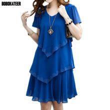Bobokateer summer dress 2017 azul vestidos de festa mulheres dress chiffon Robe 4XL 5XL Plus Size Mulheres Sexy Vestido De Festa roupas(China (Mainland))