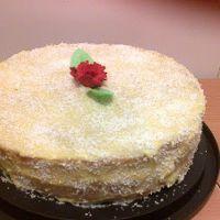 Bolo de côco delicioso - RECEITAS APETITOSAS Cheesecake, Appetizers, Desserts, 1, Food, Desert Recipes, Spotty Dotty Cake, Homemade Cakes, Bon Appetit