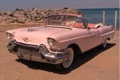 Cadillac look good in pink Dyna Low Rider, Retro Cars, Vintage Cars, Retro Vintage, My Dream Car, Dream Cars, Honda Cbf 600, Chevrolet Corvette, 1957 Chevrolet