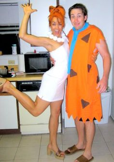 Fred and Wilma.