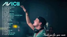 The Best Of Avicii Songs - RIP - Thank you for your music 🖤 Music Video Song, Song Playlist, Music Lyrics, Avicii Album, Avicii Songs, Sound Of Music, Music Love, My Music, Hey Brother