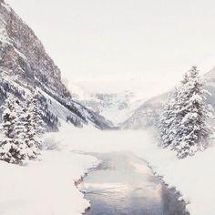 Gorgeous snowy winter landscape