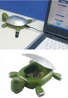 Turtle USB hub