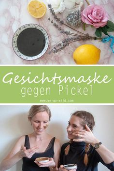 Die ultimative Gesichtsmaske gegen Pickel selber machen We show you our ultimate face mask for pimples! These natural home remedies put an end to pustules and inflammation on the face. Making the face mask yourself is easy. Pimple Mask, Face Mask For Pimples, Diy Face Mask, Acne Face, Natural Hair Care Tips, Natural Hair Styles, Diy Beauty, Beauty Hacks, Afro Hair Care