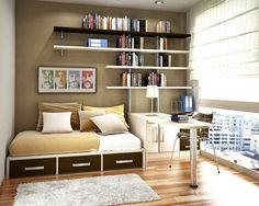 Space Saving Ideas For Small Bedrooms space-saving furniture for your small bedroom - http://freshome