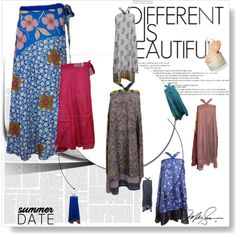 BOHEMIAN WOMEN'S STYLE : SILK WRAP DRESSES BOHO GYPSY WRAP SKIRTS   http://bohemianwomenstyle.blogspot.in/2016/06/silk-wrap-dresses-boho-gypsy-wrap-skirts.html #wrapskirts #dresses #womens #bohemian #beachwear