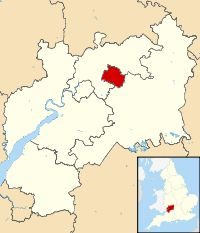 england map gloucestershire - Google zoeken