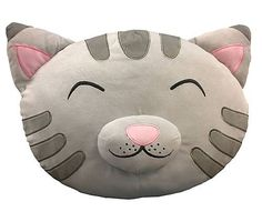 Soft Kitty Plush Pillow.