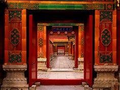Forbidden City gateway