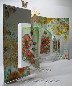 Anita 's Warme Groetjes: Workshop Kleurrijk *zomerse kleurtjes* Penny Black, Elizabeth Craft Designs, Seed Packets, Pop Up Cards, Flower Cards, Paper Crafts, Flowers, Card Ideas, Workshop