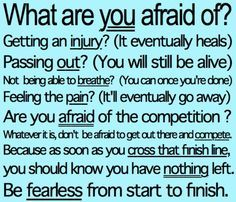 Every time I'm going to play a tournament this helps me realize what I came for and not to be afraid  !
