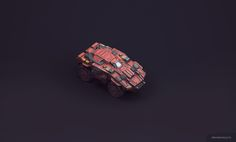 PBR Top-Down 3d Vehicle pack for Unity5 on Behance