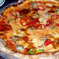 This Velveeta-like processed cheese product made with mild cheddar, Swiss, provolone and liquid smoke was first popularized as a pizza topping by Imo's Pizza, a Missouri-based chain. Today, St. Louis-style pizza is characterized by the use of Provel cheese on crispy, thin-crusted square slices.   - Delish.com