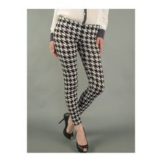 $12. Only Large left in-stock. Houndstooth Leggings
