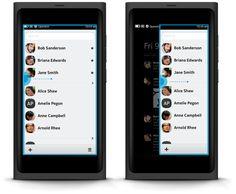 Nokia N9 - The swipe