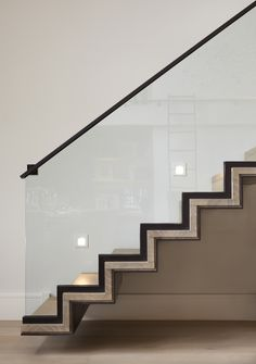 Graphic Stairs | www.helengreendesign.com © Helen Green Design Interior Architecture