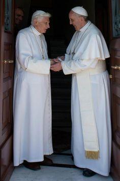 Pope Emeritus Benedict XVI and Pope Francis