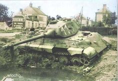 Tiger II in Normandy.