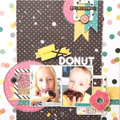 Love this layout! Paper Bag Scrapbook, Scrapbook Blog, Scrapbook Layout Sketches, Kids Scrapbook, Scrapbooking 101, Picture Layouts, Book Layouts, Simple Stories, Creative Sketches