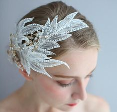Swan Lake Ballet Headpiece Natural White inverted Tiara | Etsy Swan Lake Wedding, Ballerina Hair, Ballet Shows, Swan Lake Ballet, Hair Tools, Beaded Lace, Hair Jewelry, Hair Pieces, Veil