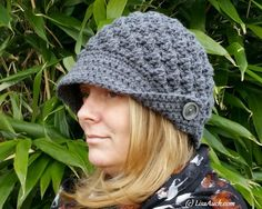 Fashionable Womans Crochet Hat (Free Pattern Review) (FREE Crochet Patterns)