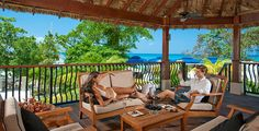 Riviera Seaside treehouse at Sandals Grande Riviera in Ocho Rios, Jamaica