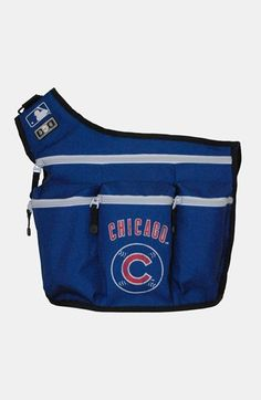 Diaper Dude Chicago Cubs Messenger Diaper Bag available at #Nordstrom Jordan would love this!