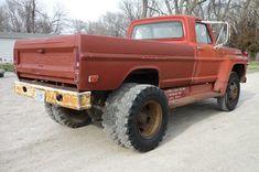 Dually Trucks, Farm Trucks, Ford Pickup Trucks, Cool Trucks, Big Trucks, Custom Hot Wheels, Ford F Series, Ford 4x4, Old Fords