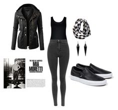 """Untitled #4"" by esefa-husarkic ❤ liked on Polyvore featuring City Chic, Oasis, LE3NO and Vans"