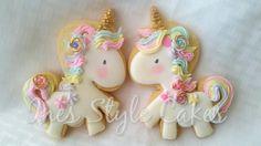 Cupcakes unicornio betun 62 ideas for 2019 Valentine Cookies, Birthday Cookies, Cute Cookies, Cupcake Cookies, Unicorn Birthday Parties, Unicorn Party, Cookies Decorados, Unicorn Cookies, Royal Icing Cookies