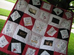 Items similar to Customized Memory Quilt on Etsy