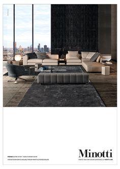 Freeman seating system, Rodolfo Dordoni Design #adv #freeman #sofa…