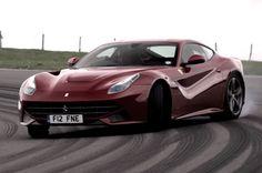 Watch Chris Harris'killing tires' in a Ferrari F12 Berlinetta